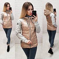Куртка-ветровка, модель 768/1, светлый бежевый
