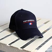 Кепка стильная Vetements | логотип вышивка, фото 1