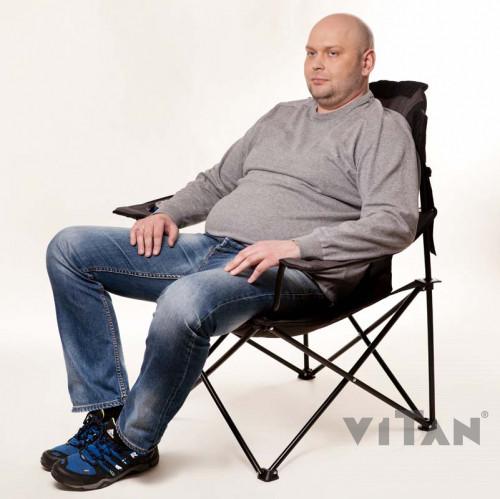 "Кресло ""Мастер карп"" d16 мм (серый)"