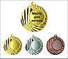 Медаль MMC1145 с жетоном и лентой (45mm)