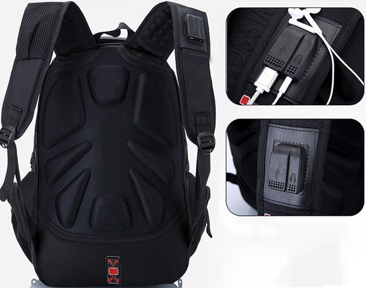 772370985ccb ... Вместительный рюкзак SwissGear Wenger, свисгир. Черный. + Дождевик. 35L  / s8810- ...