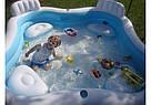 Надувний басейн Intex 56475 Сімейний 229х229 см, фото 2