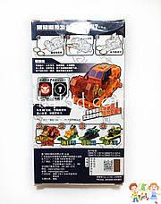 Машинка скричер Бык / Screechers Wild 07 - Дикие Скричеры-трансформеры прыжок 360 градусов (оригинал), фото 3