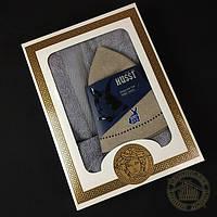 Подарочный набор для бани 3в1 (серый)