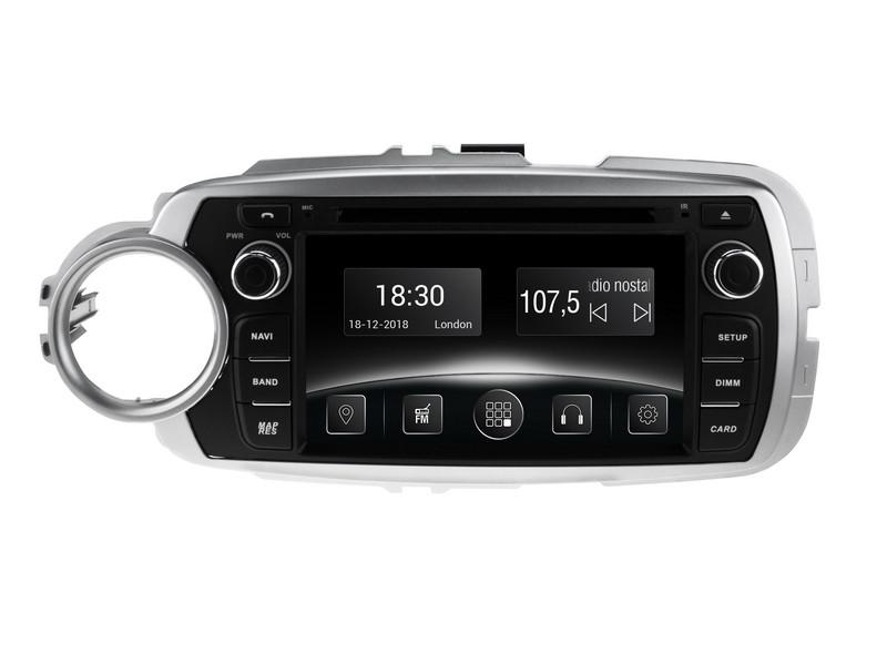 Штатная автомагнитола Gazer CM5006-P130 (Toyota Yaris (P130), 2011-2013)