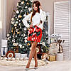 Стильная нарядная сверкающая молодежная юбка из двухсторонней пайетки, фото 5