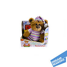 Інтерактивна м'яка іграшка ведмідь - казкар