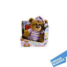 Интерактивная мягкая игрушка медведь -  сказочник