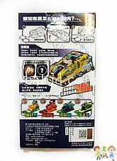 Машинка скричер Динозавр / Screechers Wild 5V - Дикие Скричеры-трансформеры прыжок 360 градусов (оригинал), фото 3