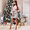 Стильная нарядная сверкающая молодежная юбка из двухсторонней пайетки, фото 4