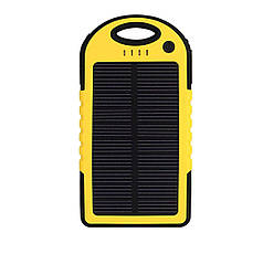 Внешний аккумулятор с солнечной батареей Power Bank Noisy S50 10000 mAh Solar Yellow