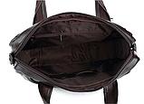 Сумка Bodi горизонтальная коричневая, фото 2