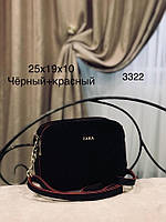 Женская сумка кросс-боди!!!,натуральная замша и кож.зам,3 отделения, фото 6