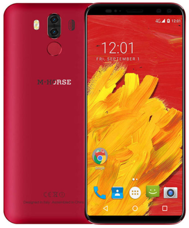 M-Horse Pure 3 Red