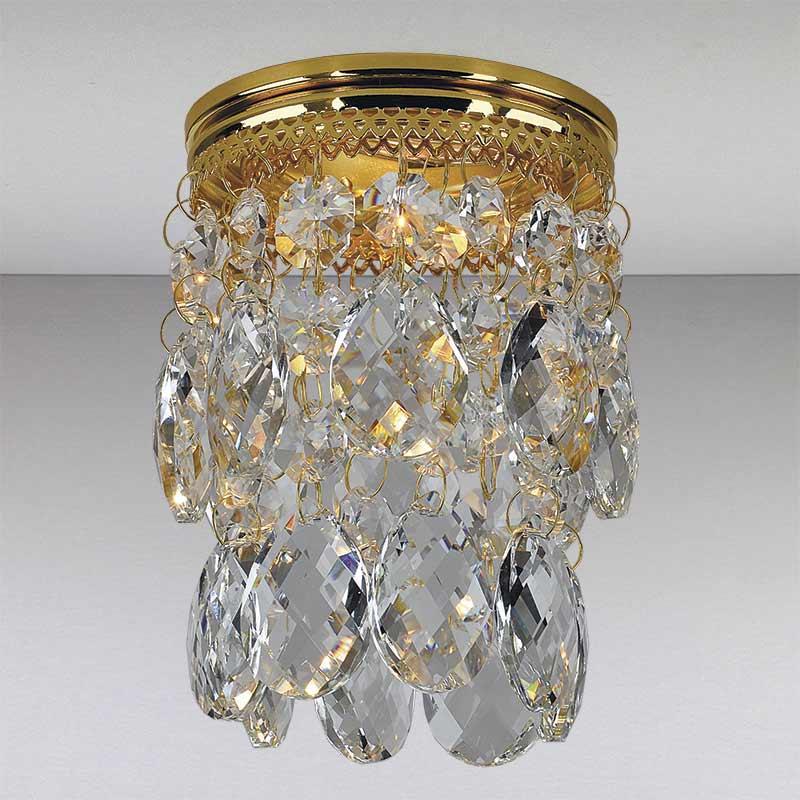 Точечный светильник LS-11147 GD/CL  золото