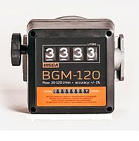 Счетчик учета дизельного топлива BGM-120 (20-120 л/мин), фото 1