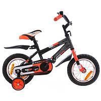"""Azimut Велосипед Azimut 12"""" Stitch A Graphite / Orange (Stitch12)"""