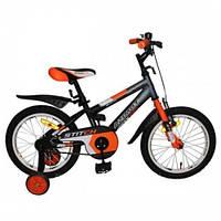 """Azimut Велосипед Azimut 18"""" Stitch A Graphite / Orange (Stitch18)"""