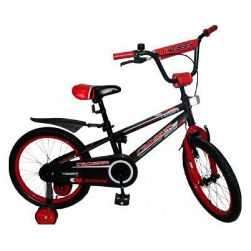 "Crosser Велосипед Crosser 12"" Sports Black / Red (Sports12)"