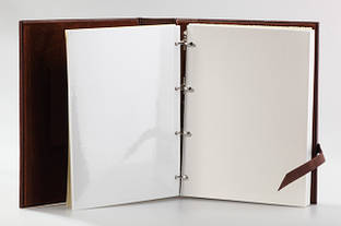 Кожаные фотоальбомы с магнитными страничками!