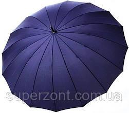 Зонт-трость мужской Doppler 741963DMA, полуавтомат, синий