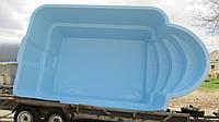 Стационарный стекловолоконный усиленный бассейн 6,0х3,0 глубиной 1,5м.