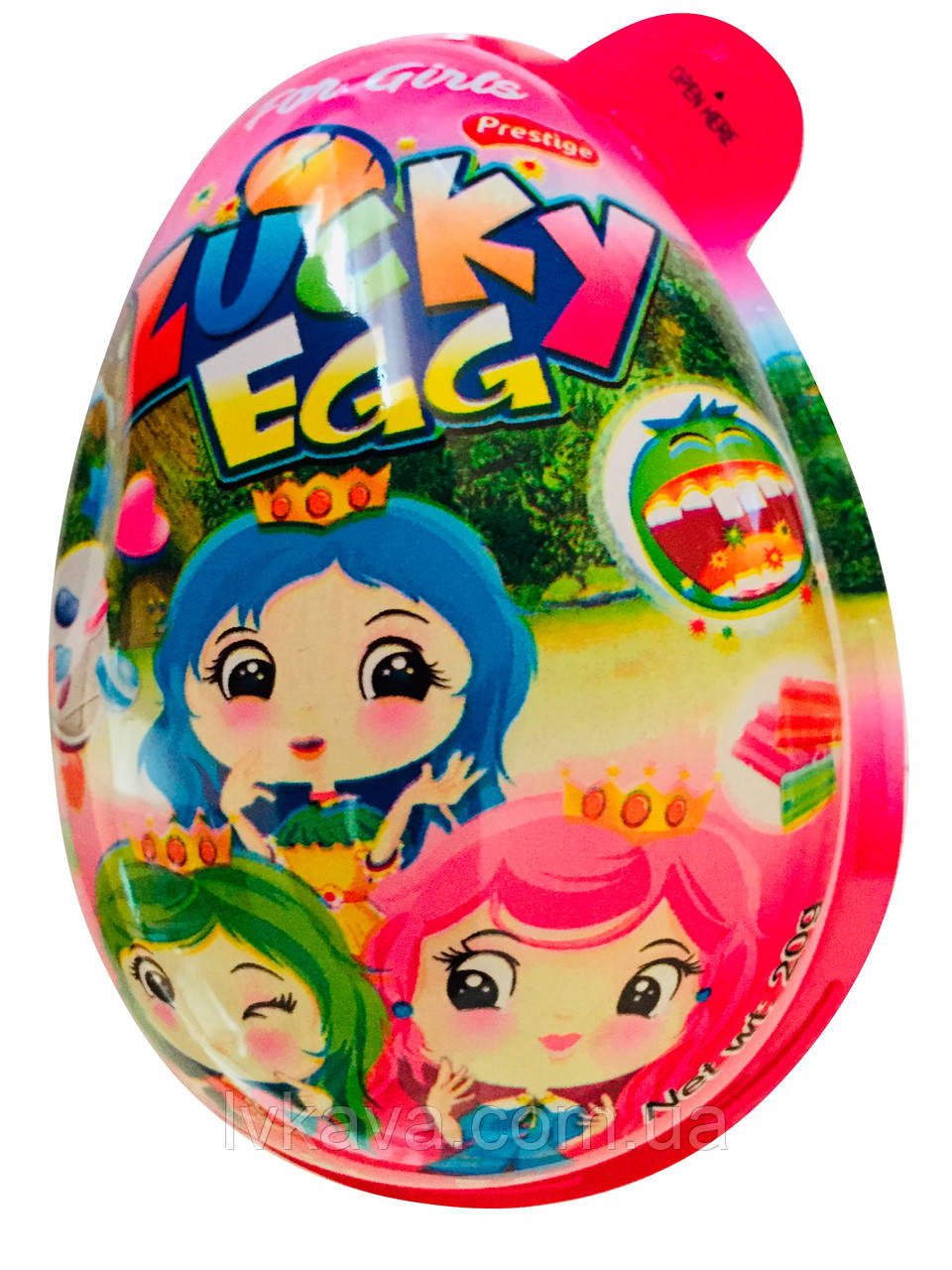 Яйцо-игрушка Big Egg Girl  Prestige, 20 g