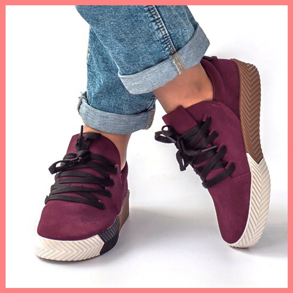 dcb7ac04 Женские кроссовки Adidas x Alexander Wang AW Skate Maroon тёмно-бордовые  фиолетовые (Реплика ТОП ААА+ класса)