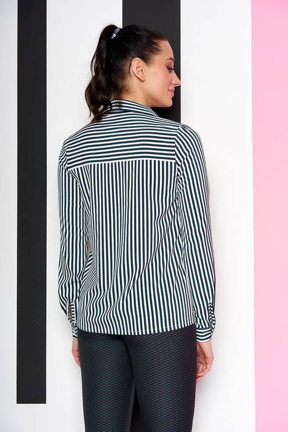 Стильная блузка-рубашка в полоску, фото 2