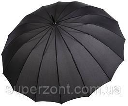 Зонт-трость мужской Doppler 741963DSZ, полуавтомат, черный