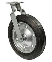 Колеса поворотные Серия 38 Norma High с крепежной панелью Диаметр: 220мм., фото 1