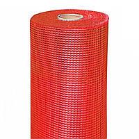 Сітка фасадна (склотканева) BudMonster LOGO 125 г/м. кв. - Червона
