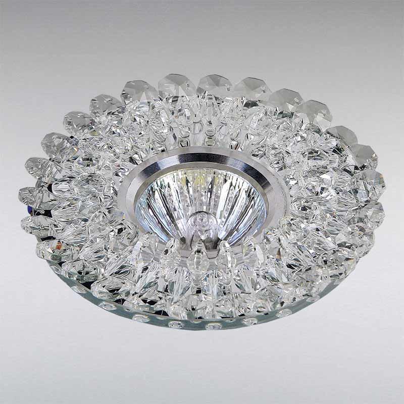 Точечный хрустальный светильник LS-11859 WH