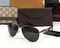 Мужские солнцезащитные очки в стиле Gucci (10005) , фото 1