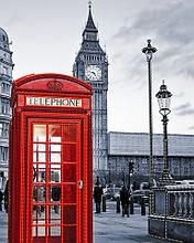 """Схема для вышивки бисером """"Лондонский стиль"""""""