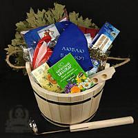 """Подарочный банный набор """"Семейный"""". Подарок для бани и сауны"""