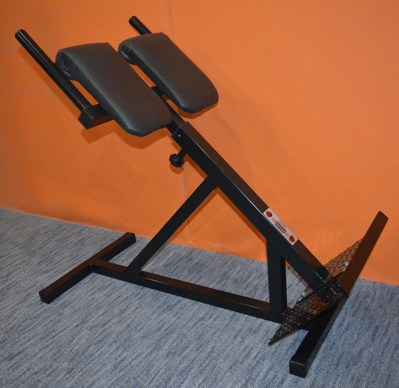 Тренажер гиперэкстензия для дома регулируемая, римский стул MALCHENKO 45°