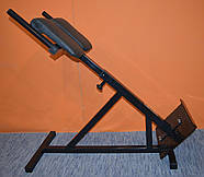 Тренажер гиперэкстензия для дома регулируемая, римский стул MALCHENKO 45°, фото 3