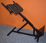 Тренажер гиперэкстензия для дома регулируемая, римский стул MALCHENKO 45°, фото 5