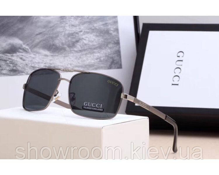 Мужские солнцезащитные очки в стиле Gucci (10011)