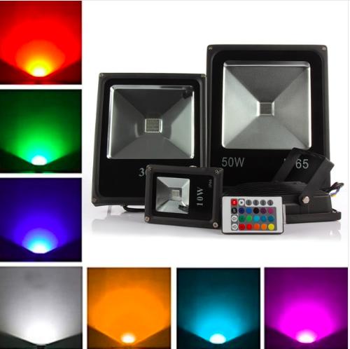 Светодиодные прожекторы цветные rgb