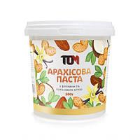Арахисовая паста ТОМ с финиками и кокосовым маслом 500 грамм