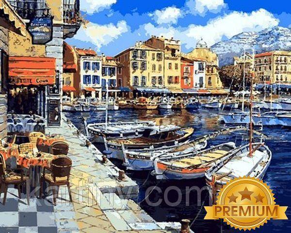 Рисование по номерам 40×50 см. Babylon Premium Послеобеденный Понт-Авен Франция Художник Сун Сэм Парк