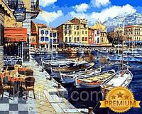 Картины по номерам на холсте 40×50 см. Babylon Premium Послеобеденный Понт-Авен Франция Художник Сун Сэм Парк
