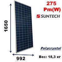 Cолнечная батарея, мощность-275Pm(W),SunTech,STP 275-20/Wfw
