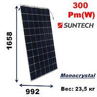 Cолнечная батарея, мощность-300Pm(W),SunTech,Double glass  STP300S-20/Wfk