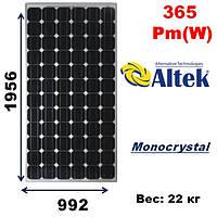 Cолнечная батарея, мощность-365Pm(W),ALTEK,ALM72-6-365P