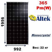 Cолнечная батарея, мощность-365Pm(W),ALTEK,RSM72-6-365P