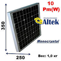Cолнечная батарея, мощность-10Pm(W),ALTEK,AKM10(6)