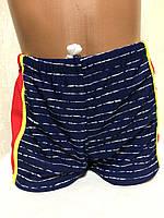 Плавки-шорты детские, подростковые плавательные. Голубые.TERES  BH 4016 красный , фото 1